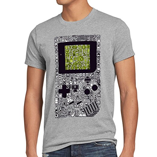 T-Shirt Gameboy Homme pixel boy